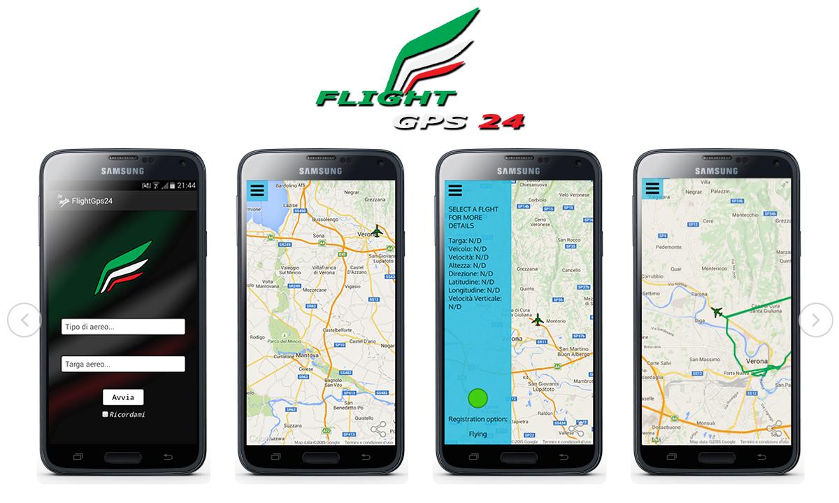 FlightGPS24, il radar per il traffico aereo dei voli privati