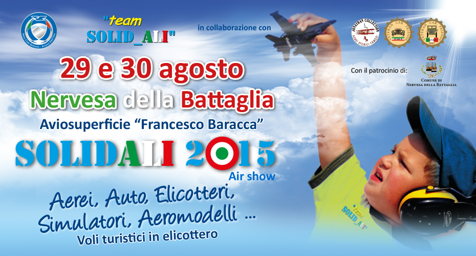 Solidali 2015 Air Show – Aviosuperficie Francesco Baracca