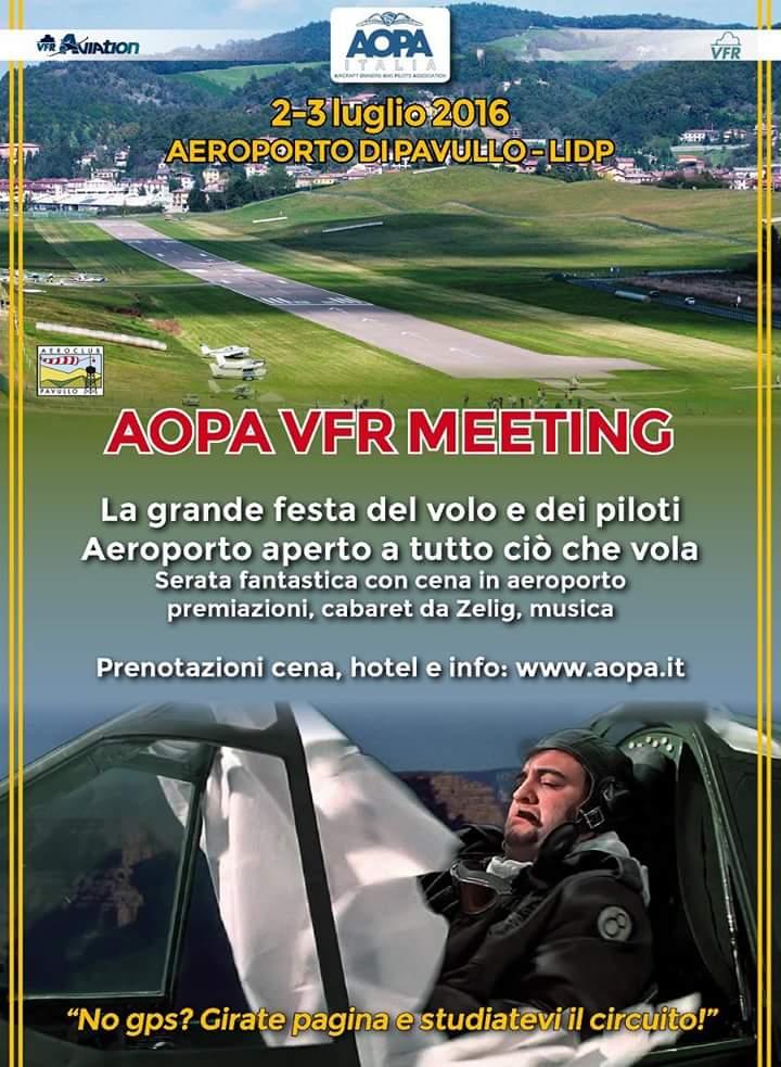 Raduno di volo AOPA Italia, VFR Aviation e VFR Team