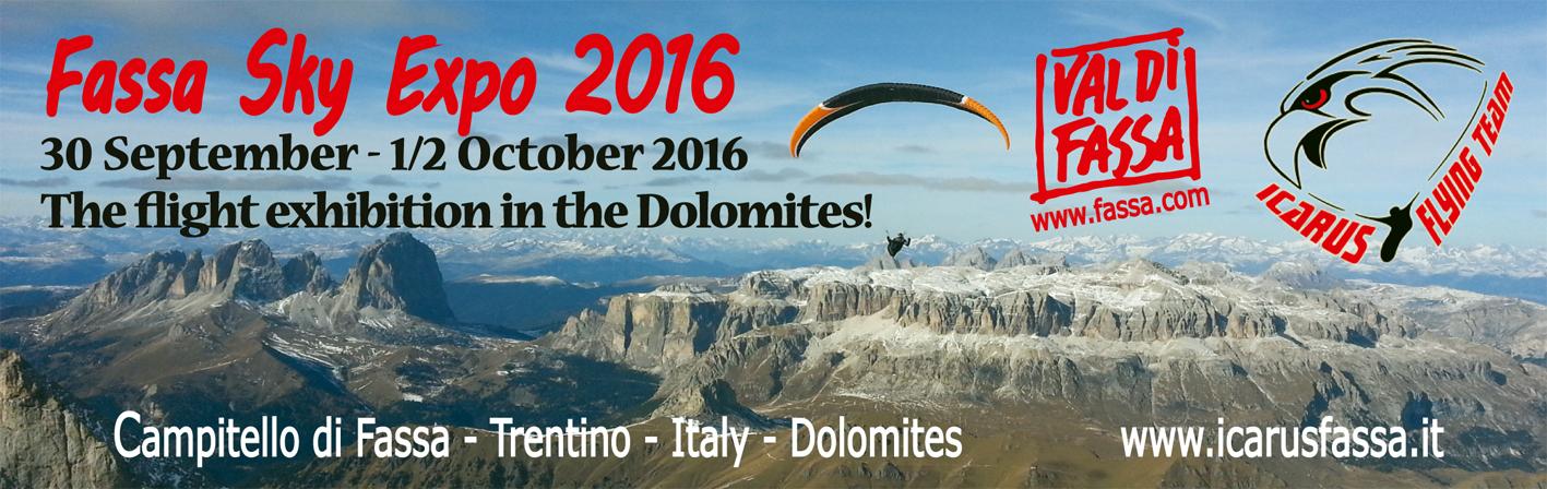 Tra le Dolomiti verso un nuovo successo l'expo 2016 del volo libero