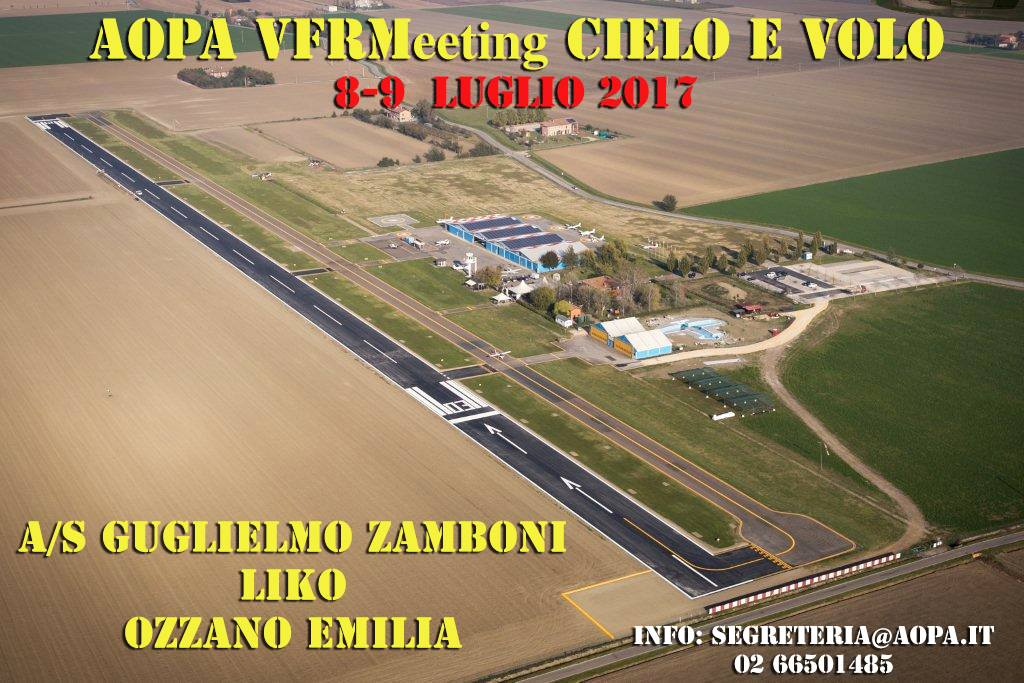 AOPA VFRMeeting 2017 – Cielo e Volo