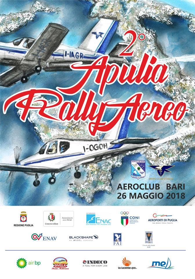 2° Apulia Rally Aereo – 26 maggio 2018