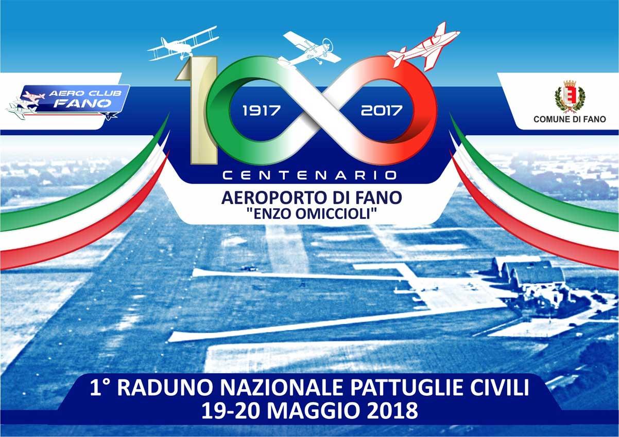 1° Raduno Nazionale Pattuglie Civili per il Centenario Aeroporto di Fano