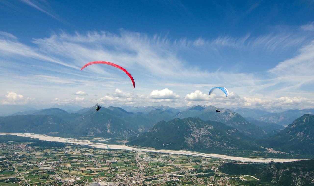La Coppa del Mondo di parapendio nei cieli del Friuli