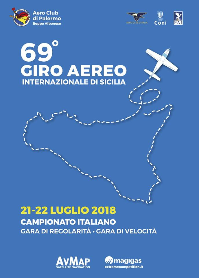 69° Giro Aereo Internazionale di Sicilia – Aeroporto Boccadifalco – Palermo
