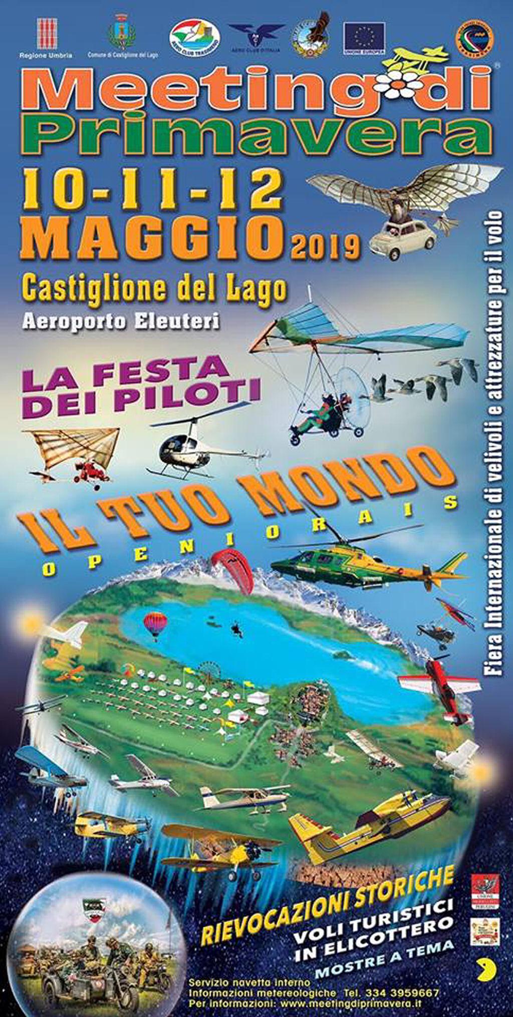 Meeting di Primavera 2019 – Castiglione del Lago