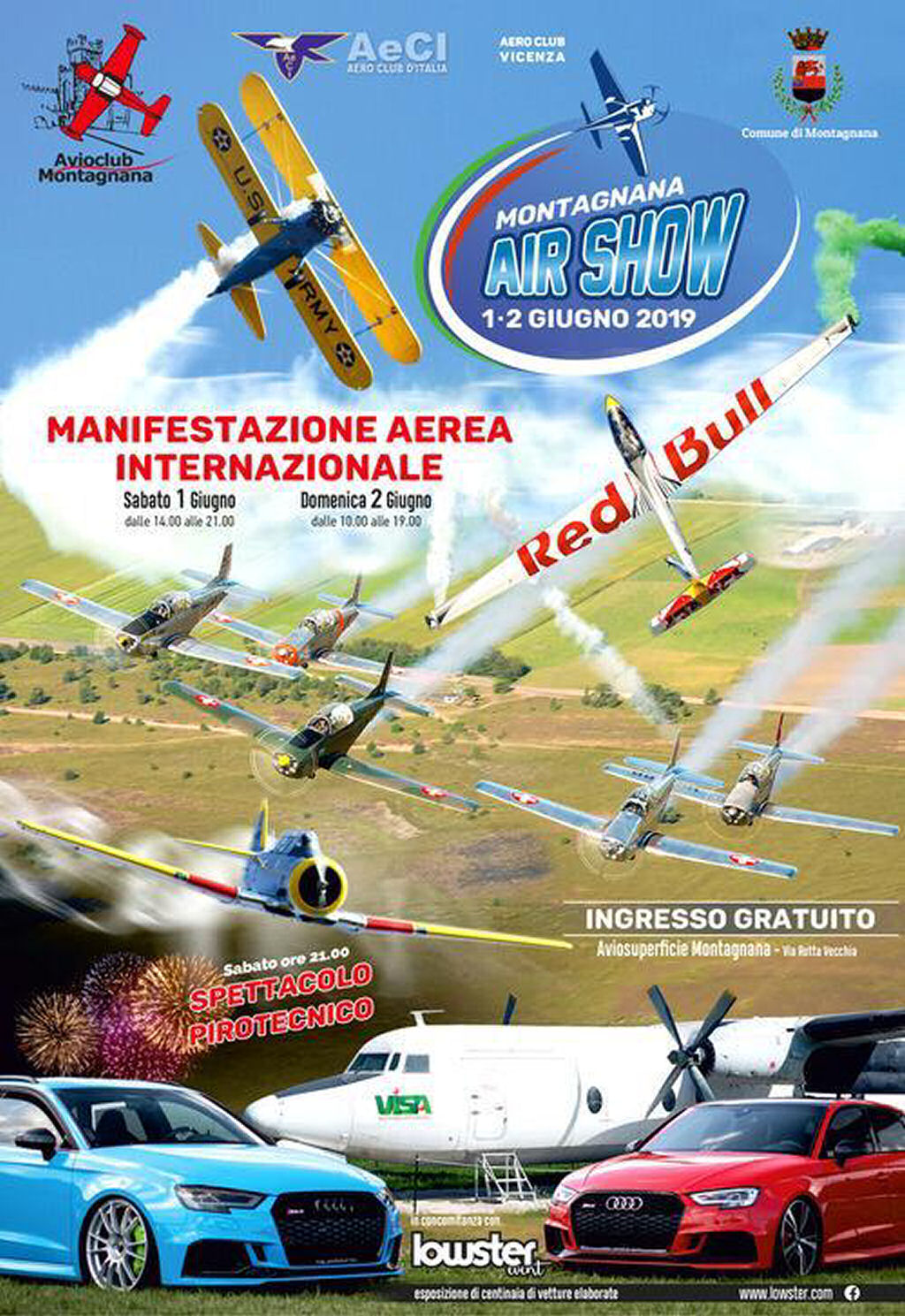 Montagnana Airshow 2019