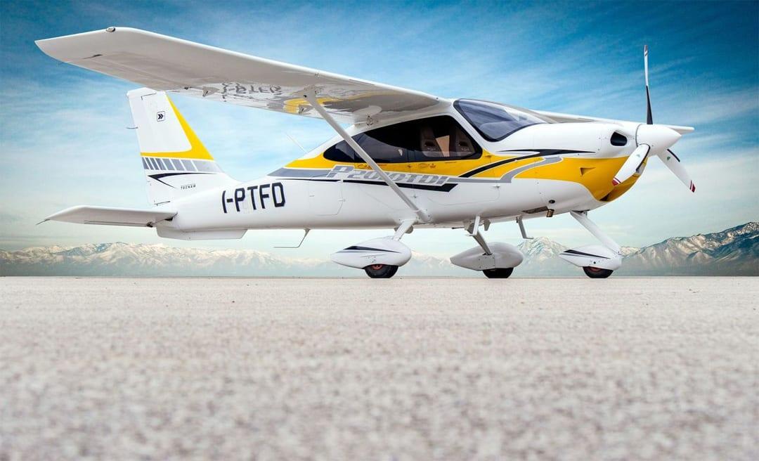 Tecnam presenta il nuovo aereo P2010 TDI